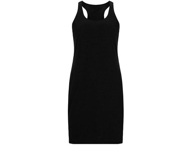 super.natural Essential Racer Kleid Damen jet black